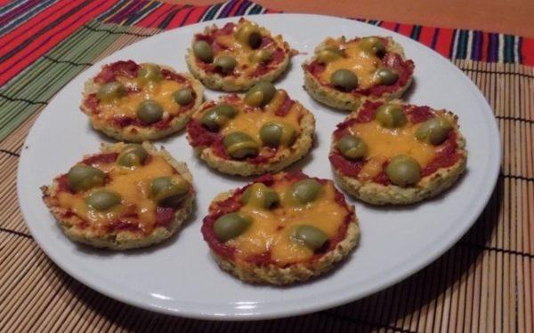 Mini pizza recept paleo