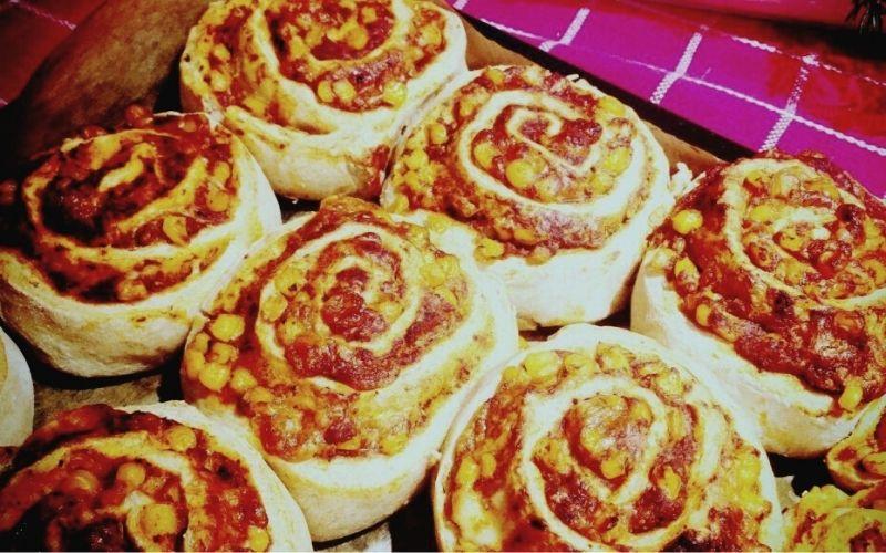 A legfinomabb pizzás csiga